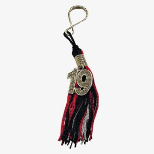 Schoen - Key ring tassel with numeral