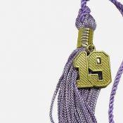 Schoen - Numeral on tassel - gold