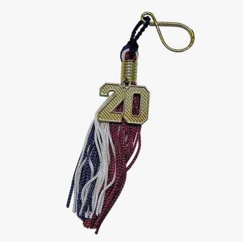 Key Ring Insignia Tassel with numeral - Schoen