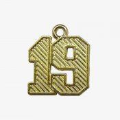 Schoen - Regular Numeral Gold