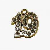 Schoen - Rhienstone Numeral gold