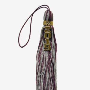 Schoen - tassel with vertical numeral