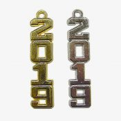 Schoen - vertical numeral gold and silver