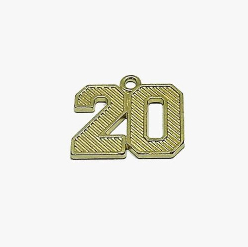 Regular Numeral Gold 2020 - Schoen Trimming and Cord Co.